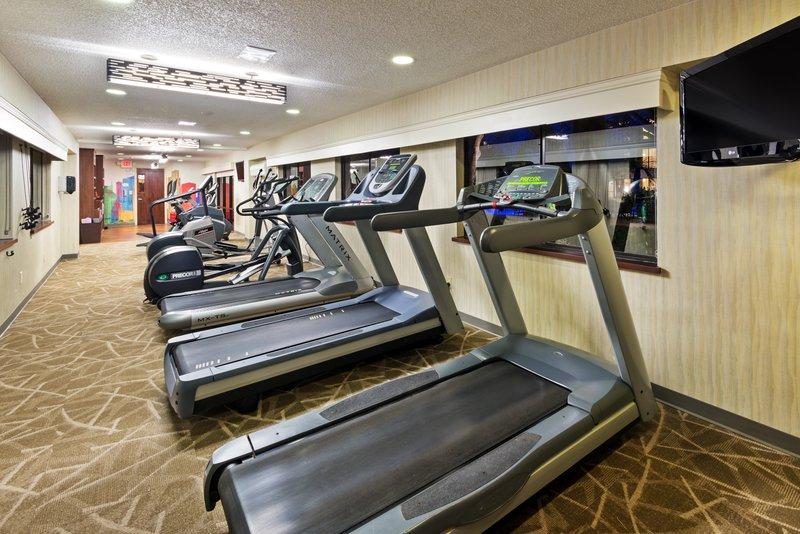 Crowne Plaza Dallas Galleria - Addison-Cardio Fitness Center -  Featuring Precor Fitness Equipment<br/>Image from Leonardo