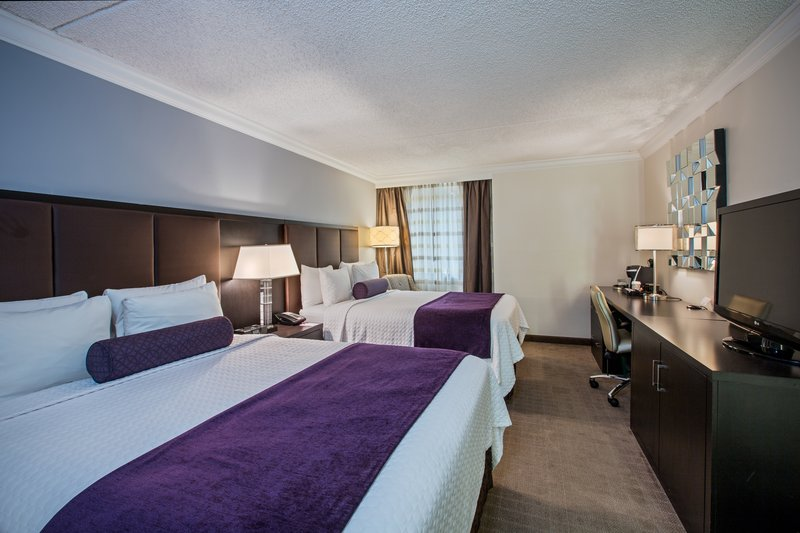 Crowne Plaza Suffern-Mahwah-Double Queen Bed Room<br/>Image from Leonardo