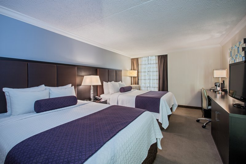 Crowne Plaza Suffern-Mahwah-Two Bed Guest Room<br/>Image from Leonardo