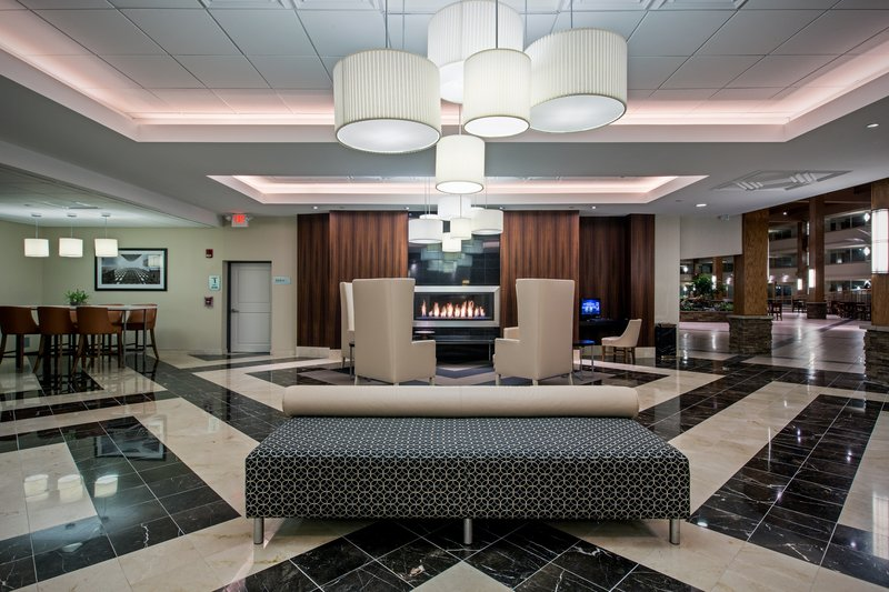 Crowne Plaza Suffern-Mahwah-Welcome to our hotel lobby with free Wi-Fi.<br/>Image from Leonardo