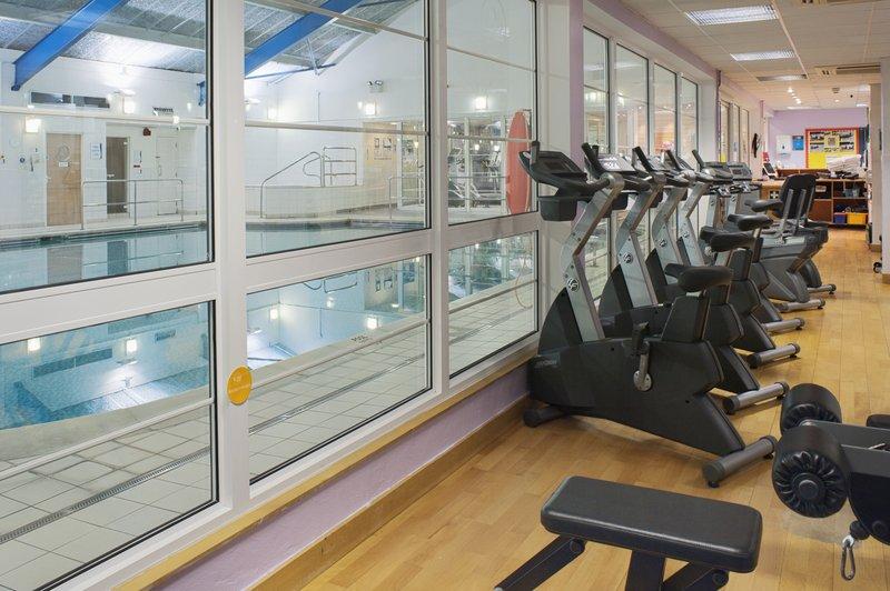 Holiday Inn Maidstone - Sevenoaks-Swimming Pool from Gym<br/>Image from Leonardo