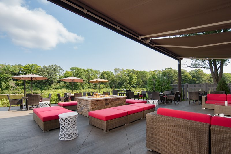 Holiday Inn Milwaukee Riverfront-Guest Patio<br/>Image from Leonardo