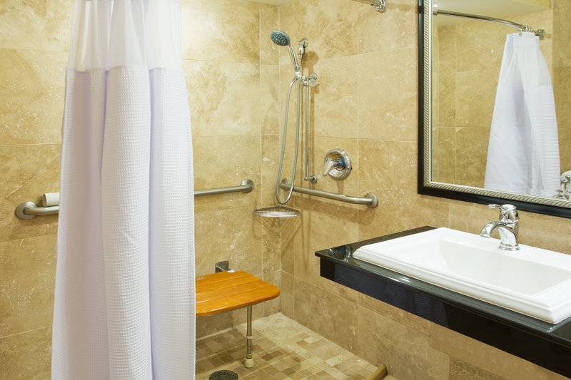 Crowne Plaza Portland-Downtown Conv Ctr-ADA Accessible Guest Bath<br/>Image from Leonardo