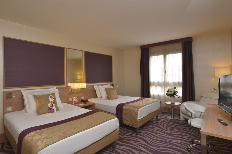 Crowne Plaza Toulouse-Standard room - Two double beds<br/>Image from Leonardo