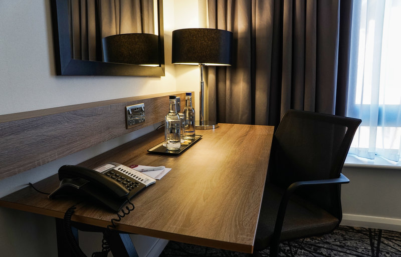 Crowne Plaza Liverpool City Centre-King Bed Guest Room<br/>Image from Leonardo