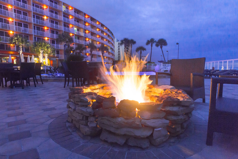 Holiday Inn Resort Daytona Beach Oceanfront-Unwind by our two oceanfront fire pits<br/>Image from Leonardo