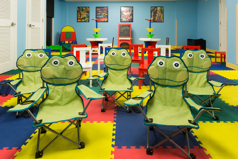 Holiday Inn Resort Daytona Beach Oceanfront-Fun Kid-Size Chairs in our Recreation Center<br/>Image from Leonardo