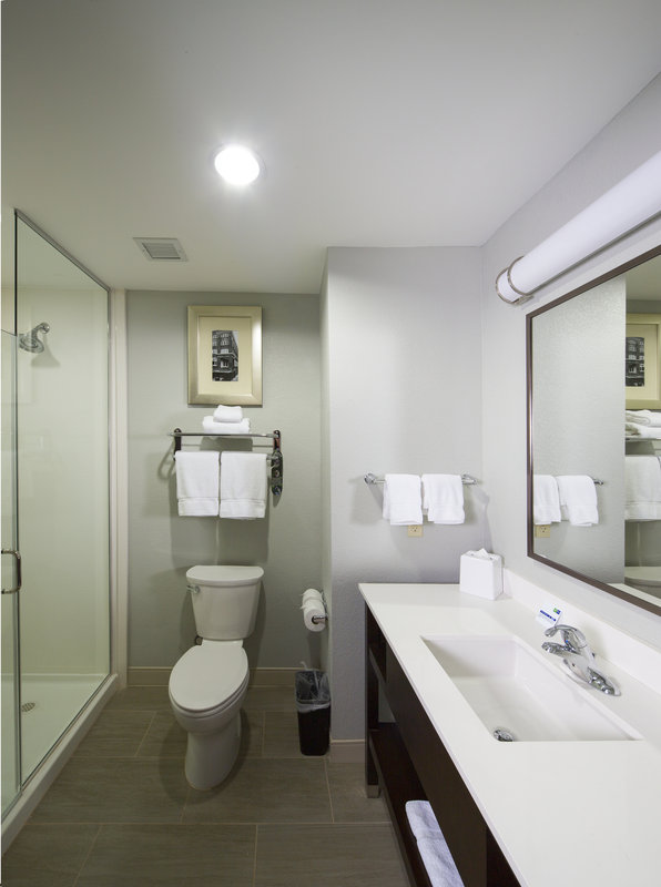 Holiday Inn Express & Suites Oklahoma City Downtown-Guest Bathroom<br/>Image from Leonardo