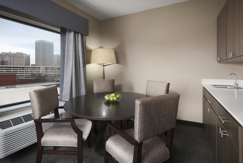 Holiday Inn Express & Suites Oklahoma City Downtown-Executive Suite Dining<br/>Image from Leonardo