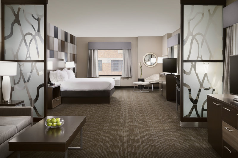 Holiday Inn Express & Suites Oklahoma City Downtown-Spacious room for business or pleasure in Bricktown!<br/>Image from Leonardo