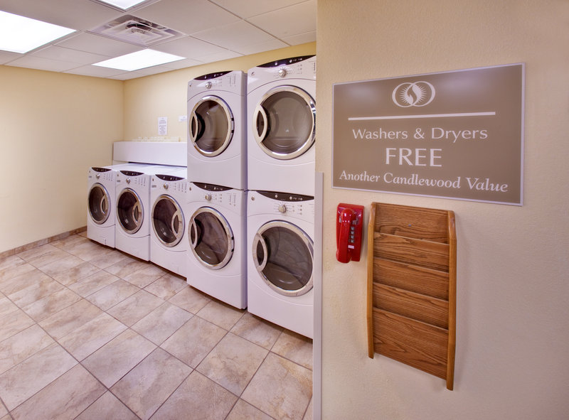 Candlewood Suites Omaha Airport-Laundry Facility<br/>Image from Leonardo