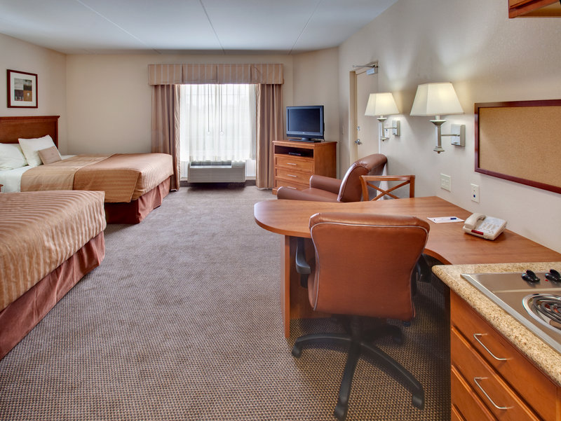 Candlewood Suites Omaha Airport-Double Bed Guest Room<br/>Image from Leonardo