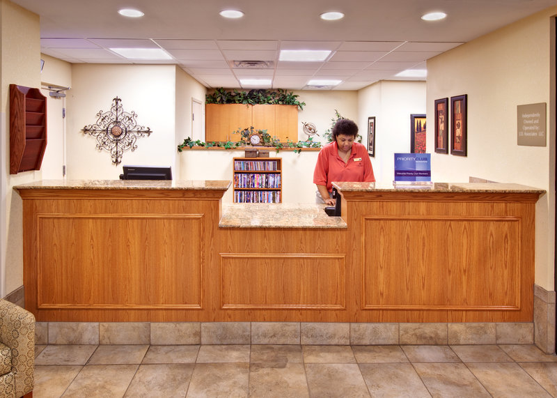 Candlewood Suites Omaha Airport-Front Desk<br/>Image from Leonardo