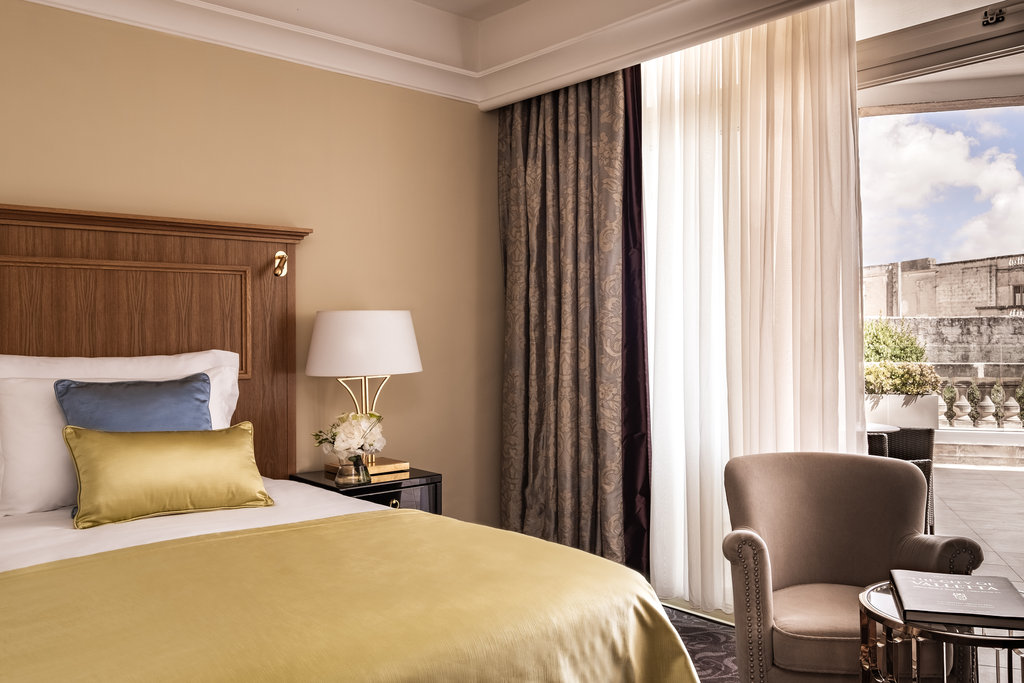 Corinthia Palace Hotel & Spa-Palace Suites Main Bedroom Detail<br/>Image from Leonardo