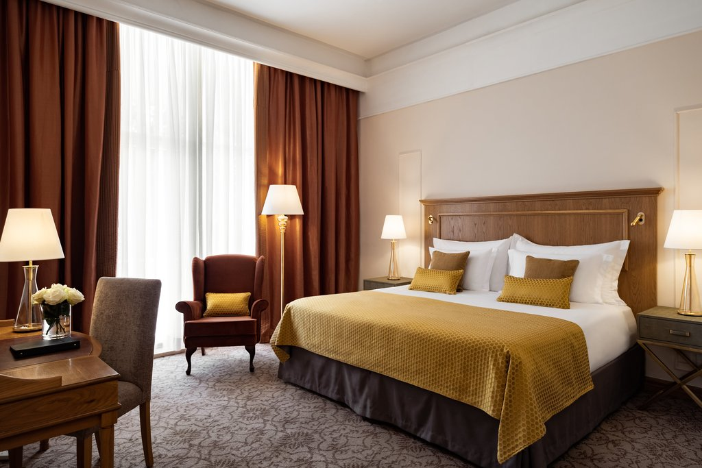 Corinthia Palace Hotel & Spa-Executive Bedrooms Double<br/>Image from Leonardo