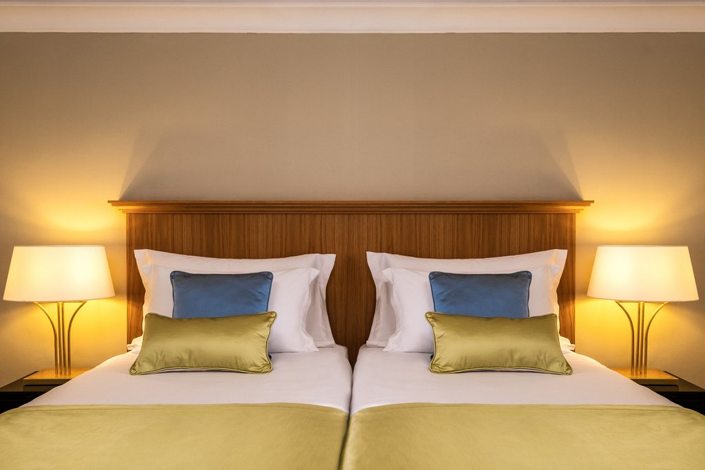Corinthia Palace Hotel & Spa-Palace Suite Twin Bedroom<br/>Image from Leonardo