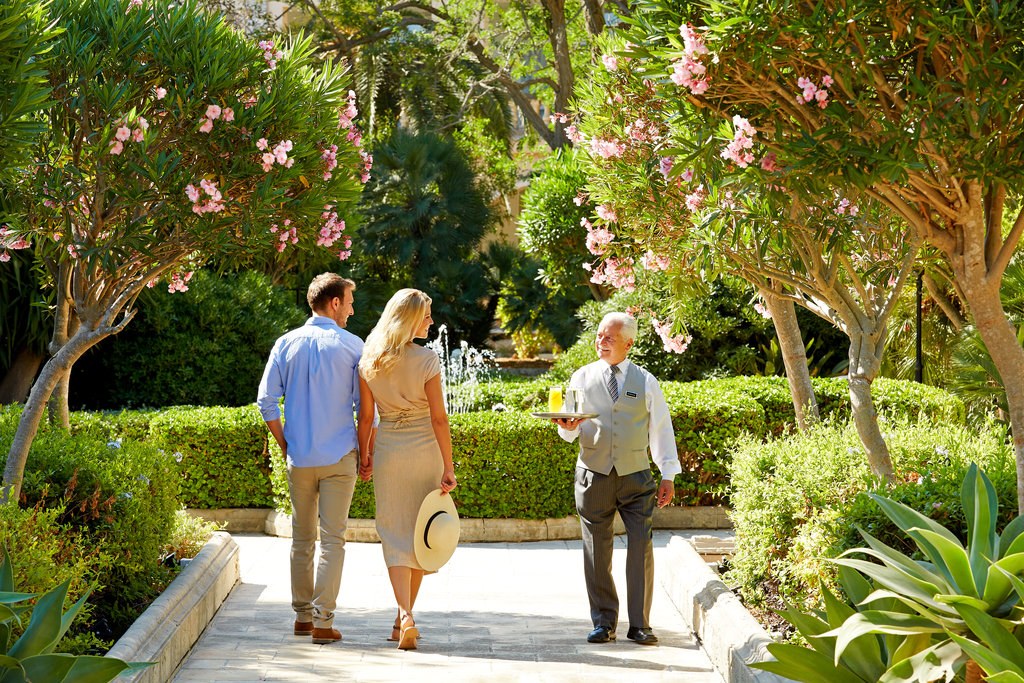Corinthia Palace Hotel & Spa-Front Gardens<br/>Image from Leonardo