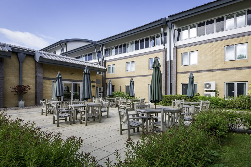 Holiday Inn Oxford-Out Door Patio - Academy Meetings & Conference Centre<br/>Image from Leonardo