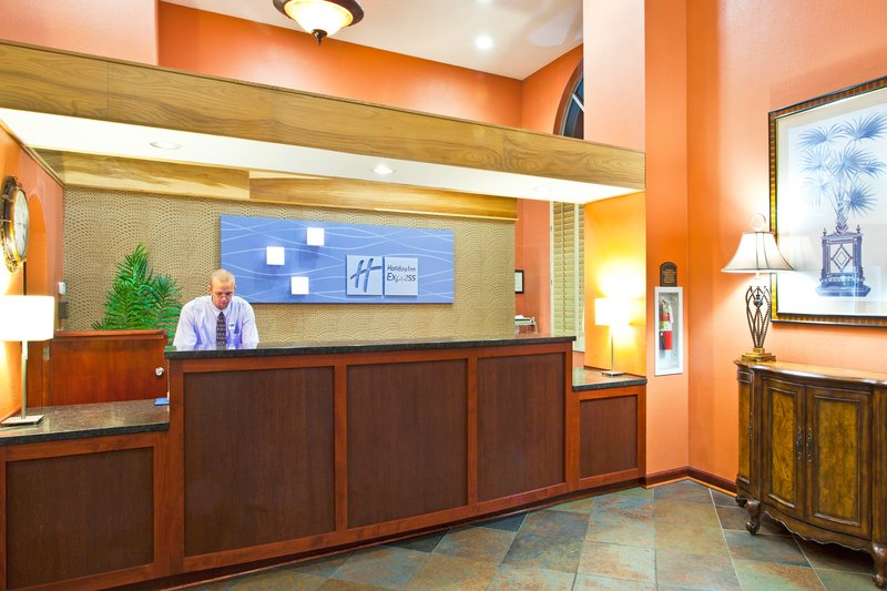 Holiday Inn Express Clearwater East - Icot Center-Front Desk<br/>Image from Leonardo