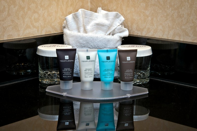 Crowne Plaza Portland-Downtown Conv Ctr-Temple Spa Bathroom Amenities Crowne Plaza Portland Downtown<br/>Image from Leonardo