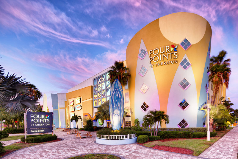 Four Points Cocoa Beach-Exterior<br/>Image from Leonardo