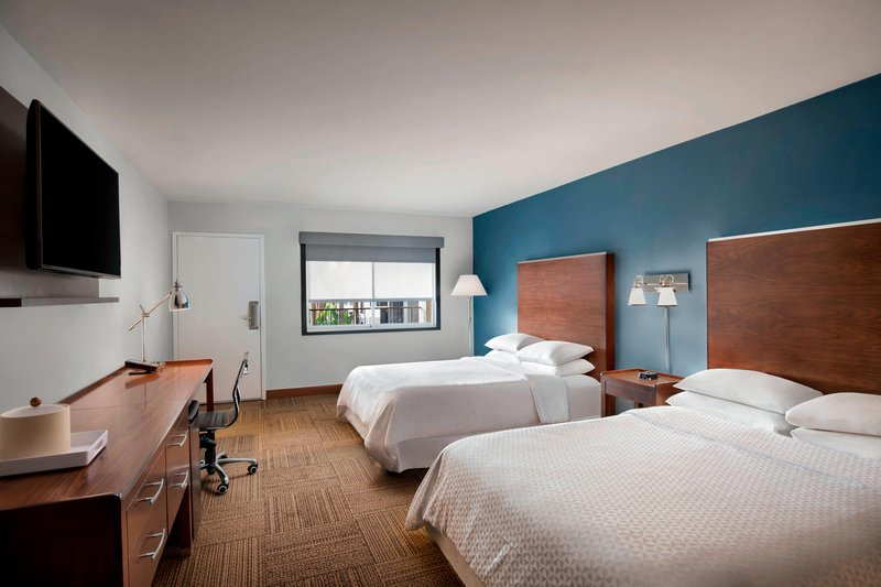 Four Points by Sheraton Anaheim-Queen/Queen Traditional or Deluxe ADA Guest Room<br/>Image from Leonardo