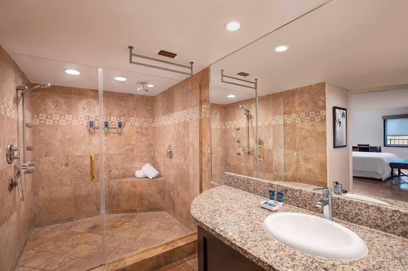Four Points by Sheraton Anaheim-Suite - Guest Bathroom<br/>Image from Leonardo
