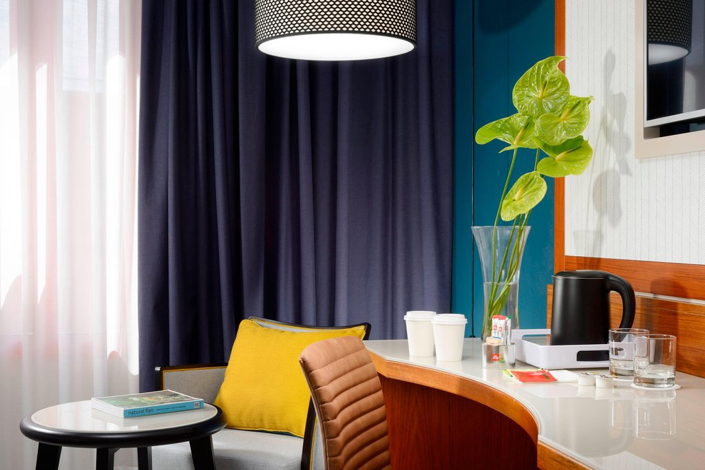 Four Points by Sheraton Siena-Guest Room<br/>Image from Leonardo