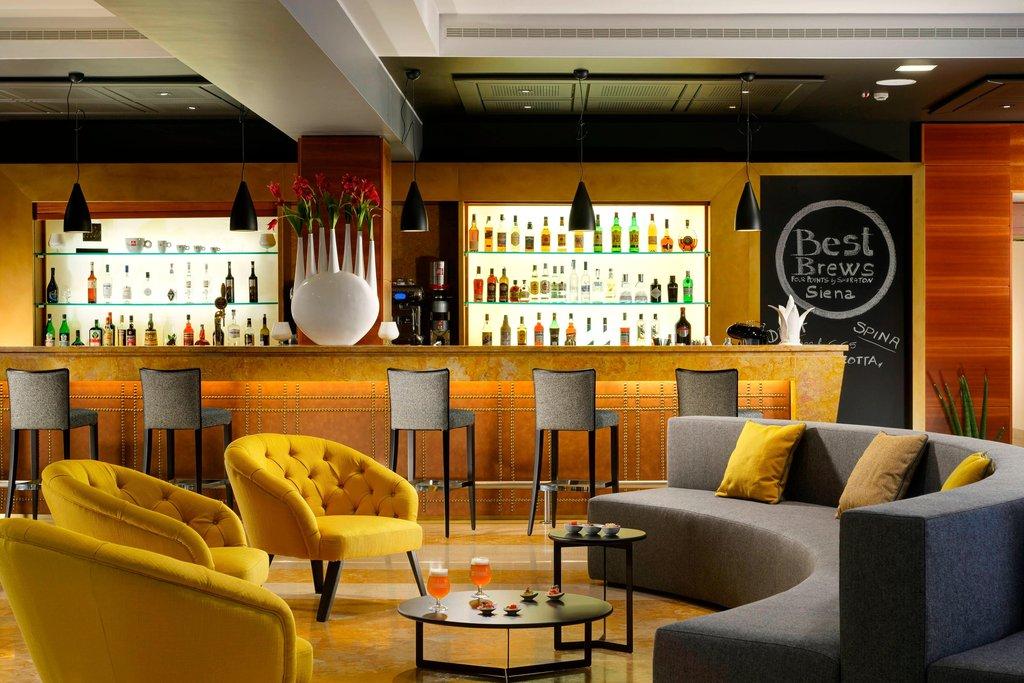 Four Points by Sheraton Siena-Lobby Bar Area<br/>Image from Leonardo