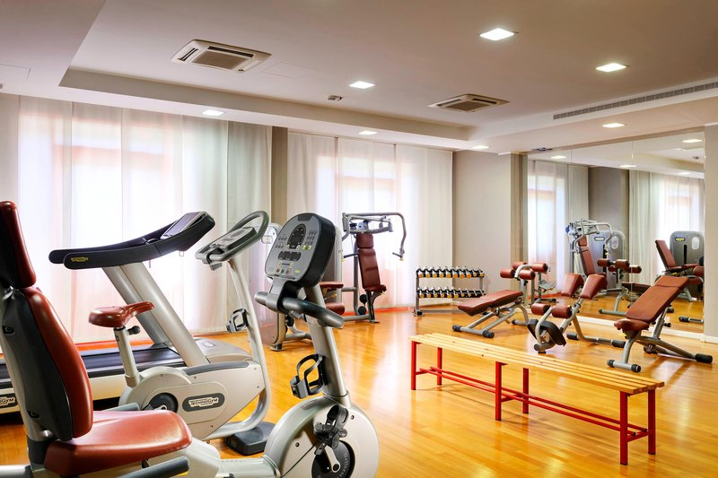 Four Points by Sheraton Siena-Gym<br/>Image from Leonardo
