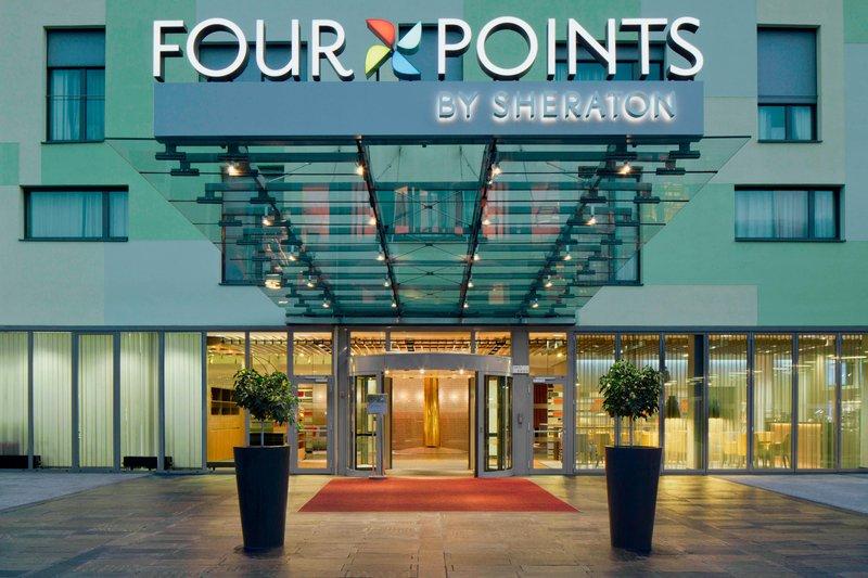 Four Points by Sheraton Ljubljana Mons-Exterior<br/>Image from Leonardo