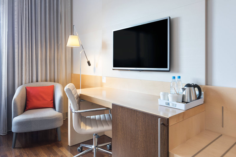 Four Points by Sheraton Ljubljana Mons-Guest Room - Work Area<br/>Image from Leonardo