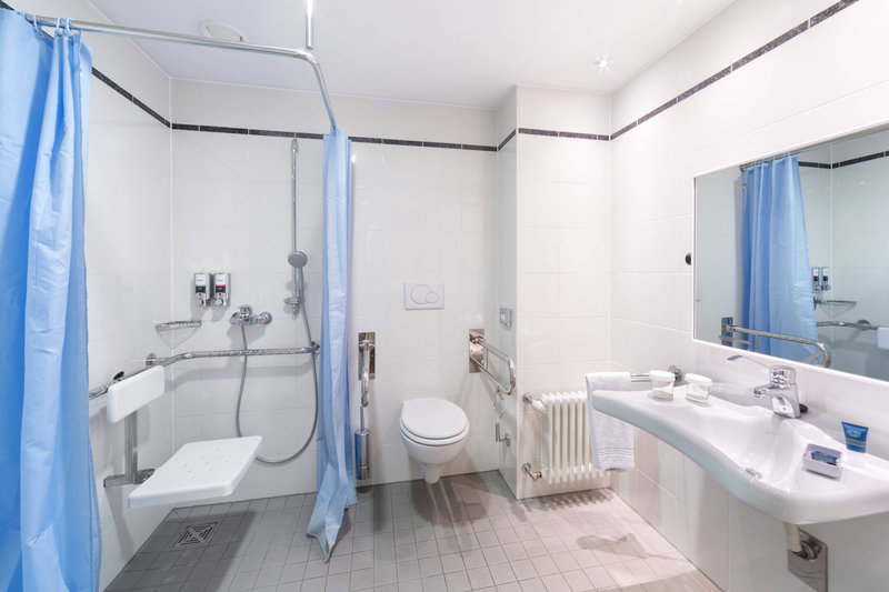 Four Points by Sheraton Ljubljana Mons-Accessible Guest Bathroom<br/>Image from Leonardo