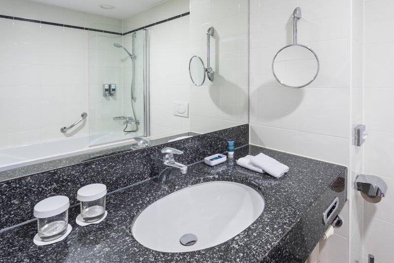 Four Points by Sheraton Ljubljana Mons-Guest Bathroom<br/>Image from Leonardo