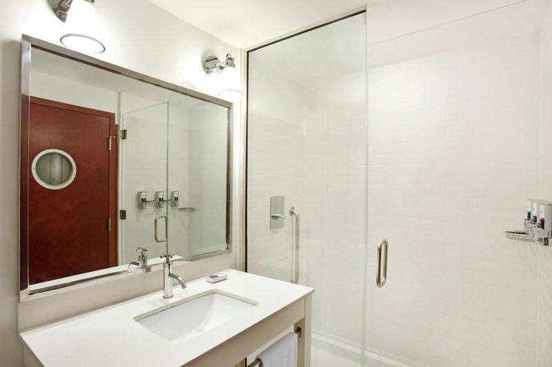 Four Points Philadelphia City Center-Guest Bathroom<br/>Image from Leonardo