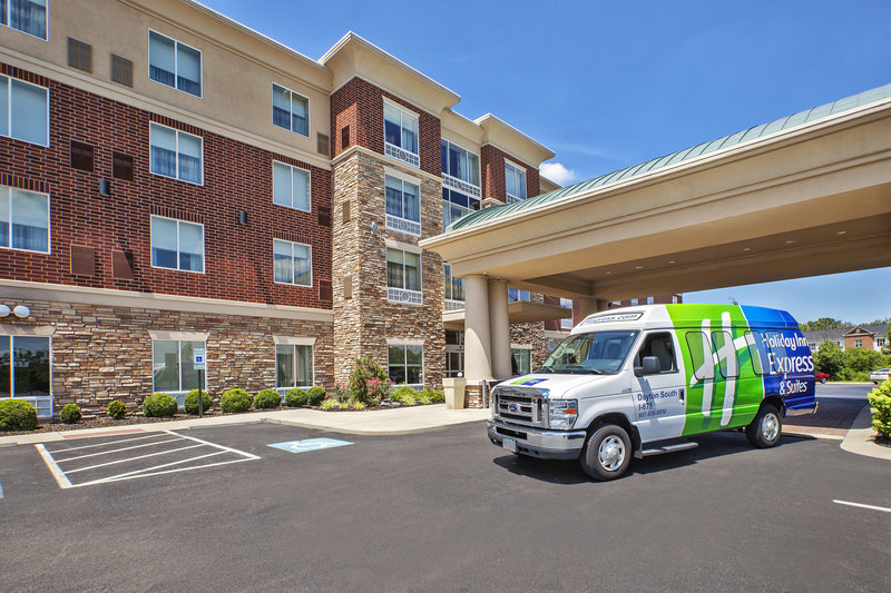 Holiday Inn Express & Suites Dayton South - I-675-Complimentary shuttle up to a 10 mile radius.<br/>Image from Leonardo