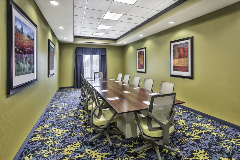 Holiday Inn Express & Suites Dayton South - I-675-Hold business conference calls in our 12 seated Boardroom. <br/>Image from Leonardo