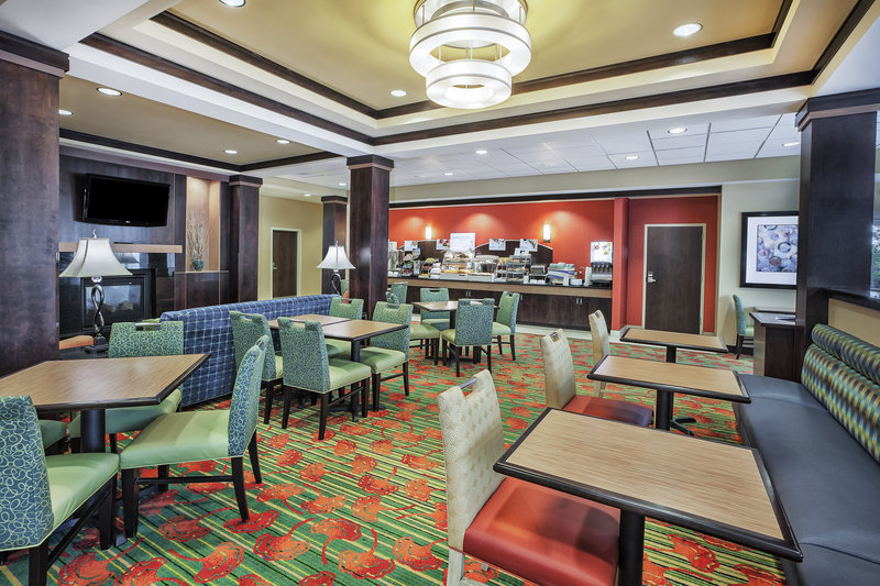 Holiday Inn Express & Suites Dayton South - I-675-Complimentary full hot breakfast bar for the whole family. <br/>Image from Leonardo