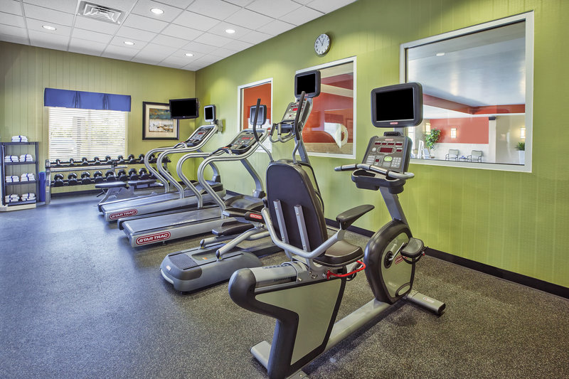 Holiday Inn Express & Suites Dayton South - I-675-Fitness Center - Your gym away from home.<br/>Image from Leonardo