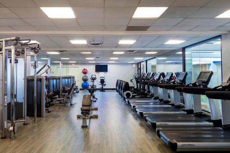 Boston Marriott Newton-Fitness Center<br/>Image from Leonardo