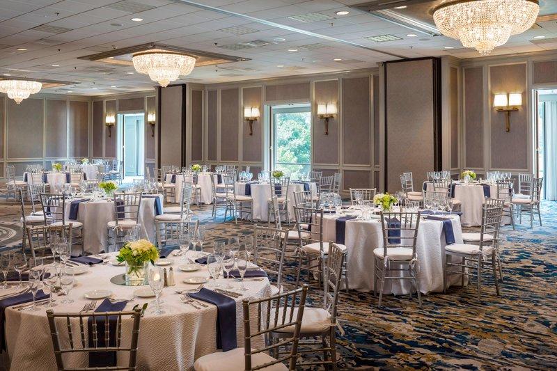Boston Marriott Newton-Grand Ballroom - Social Event<br/>Image from Leonardo