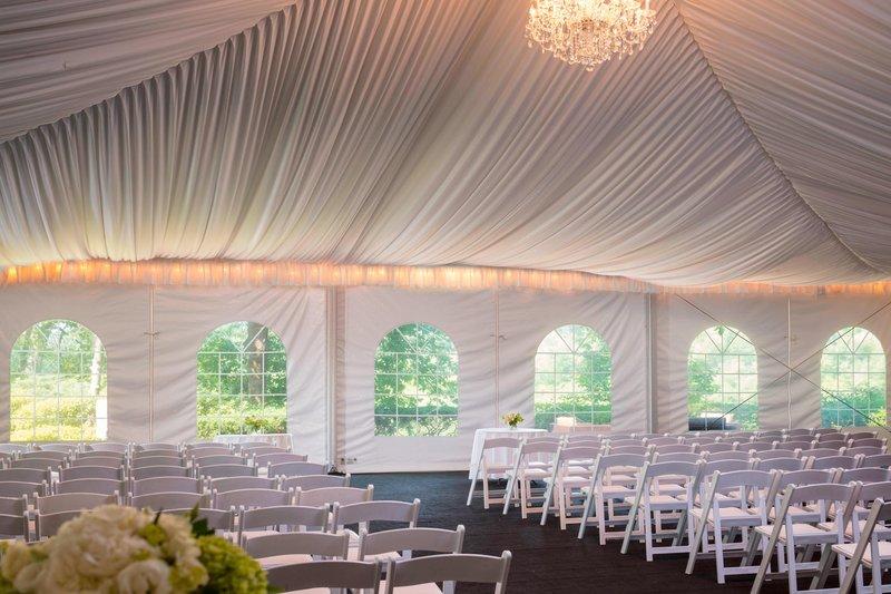 Boston Marriott Newton-Pavilion Wedding Ceremony<br/>Image from Leonardo