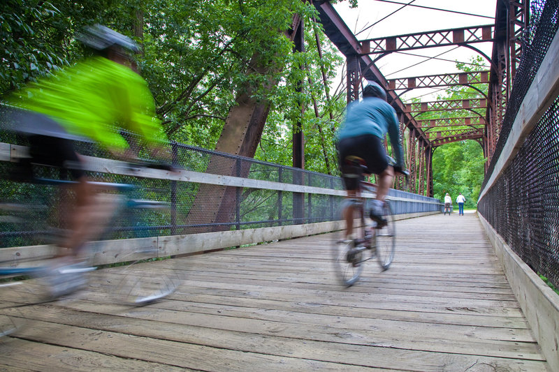 Holiday Inn Grand Rapids Downtown-Bicycling is a great way to get around the city<br/>Image from Leonardo