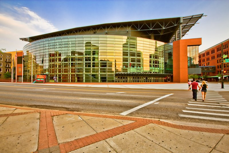 Holiday Inn Grand Rapids Downtown-Van Andel Arena - 12,000+ seat arena brings in high energy events!<br/>Image from Leonardo