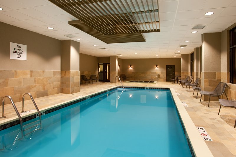 Holiday Inn Grand Rapids Downtown-Swim laps or soak in the whirlpool - Stay Healthy.<br/>Image from Leonardo
