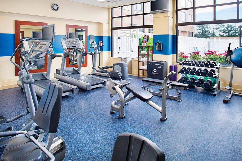 Four Points Philadelphia Airport-Fitness Center<br/>Image from Leonardo