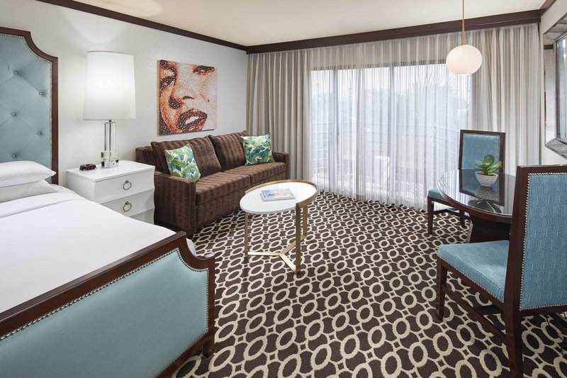 Riviera Palm Springs-King Deluxe Guest Room - Sitting Area<br/>Image from Leonardo