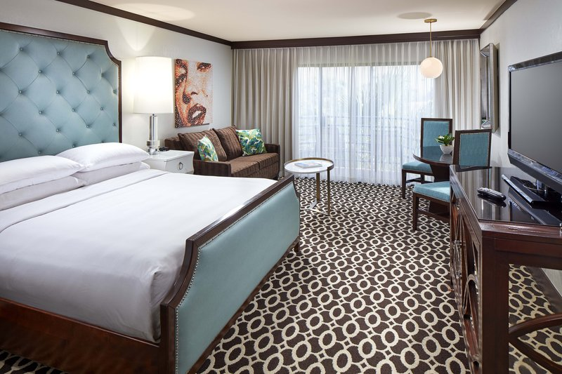 Riviera Palm Springs-King Deluxe Guest Room<br/>Image from Leonardo