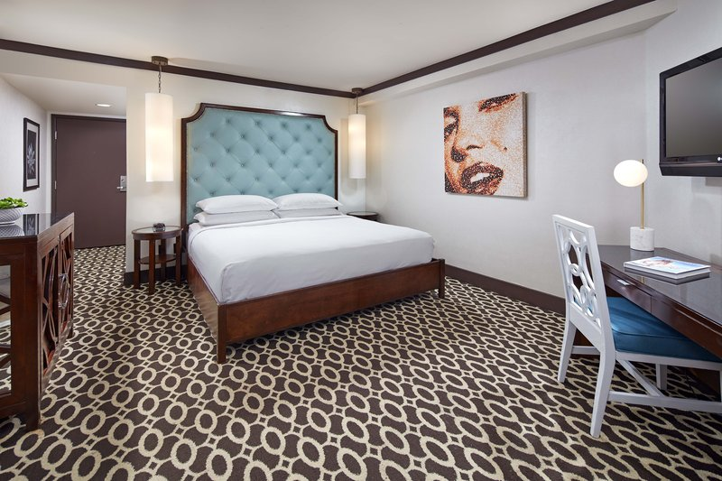 Riviera Palm Springs-King Deluxe Guest Room - Sleeping Area<br/>Image from Leonardo