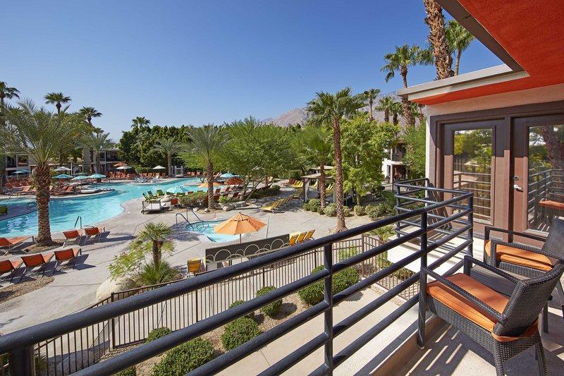 Riviera Palm Springs-Balcony - Pool View<br/>Image from Leonardo